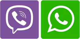 whatsapp viber 1 1